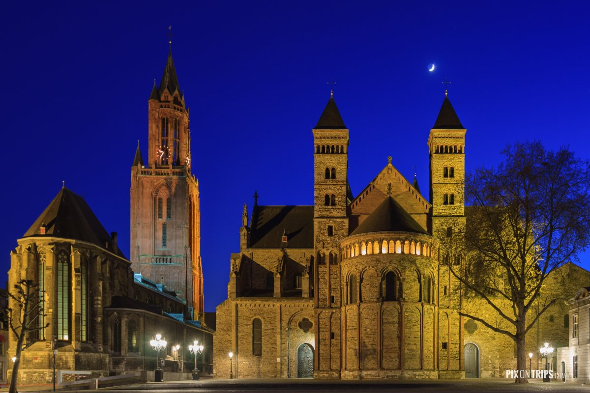 Basilica of St. John's and St. Servatius, Maastricht, Netherland - Pix on Trips