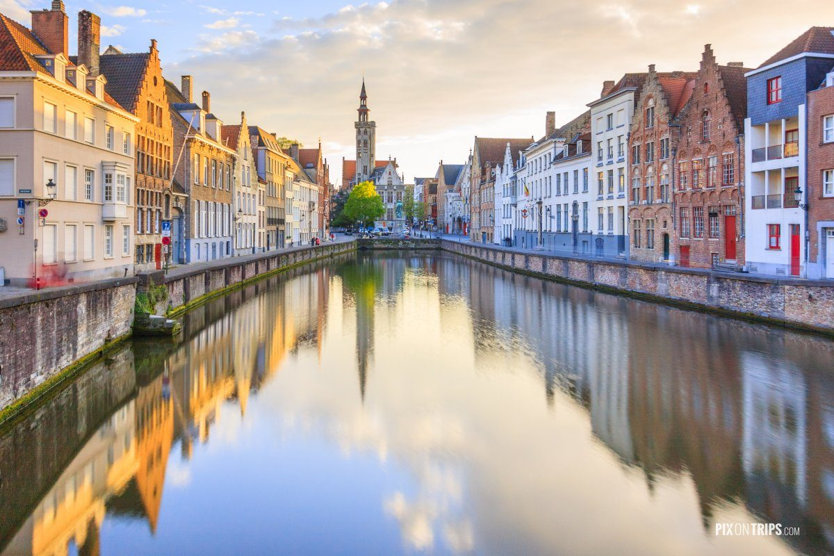 Canals of Bruges, Belgium - Pix on Trips
