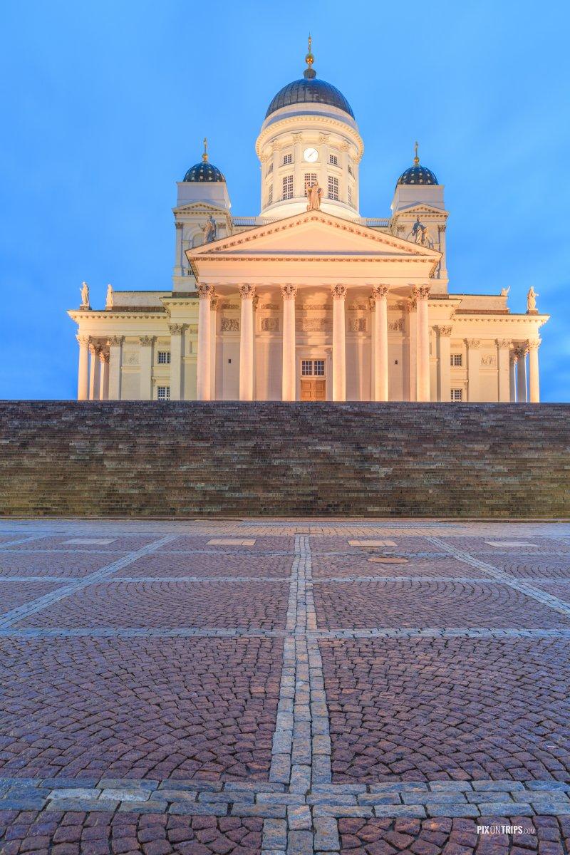 Helsinki Cathedral - Pix on Trips