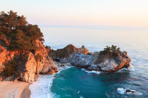 McWay Falls at Big Sur, California - Pix on Trips