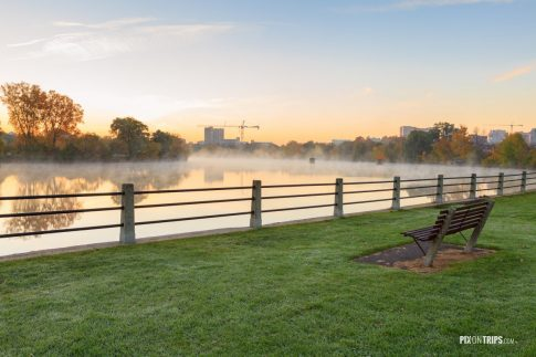 Misty River in the morning - Pix on Trips