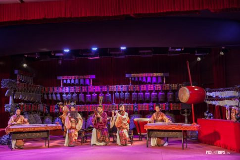 Music performance at Hubei Provincial Museum, Wuhan, China - Pix on Trips