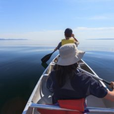 Paddling on the Lake Superior - Pix on Trips