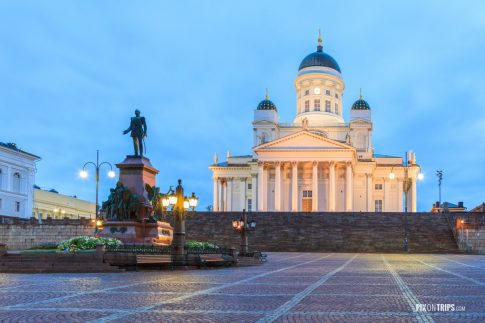 Senate Square and Helsinki Cathedral - Pix on Trips