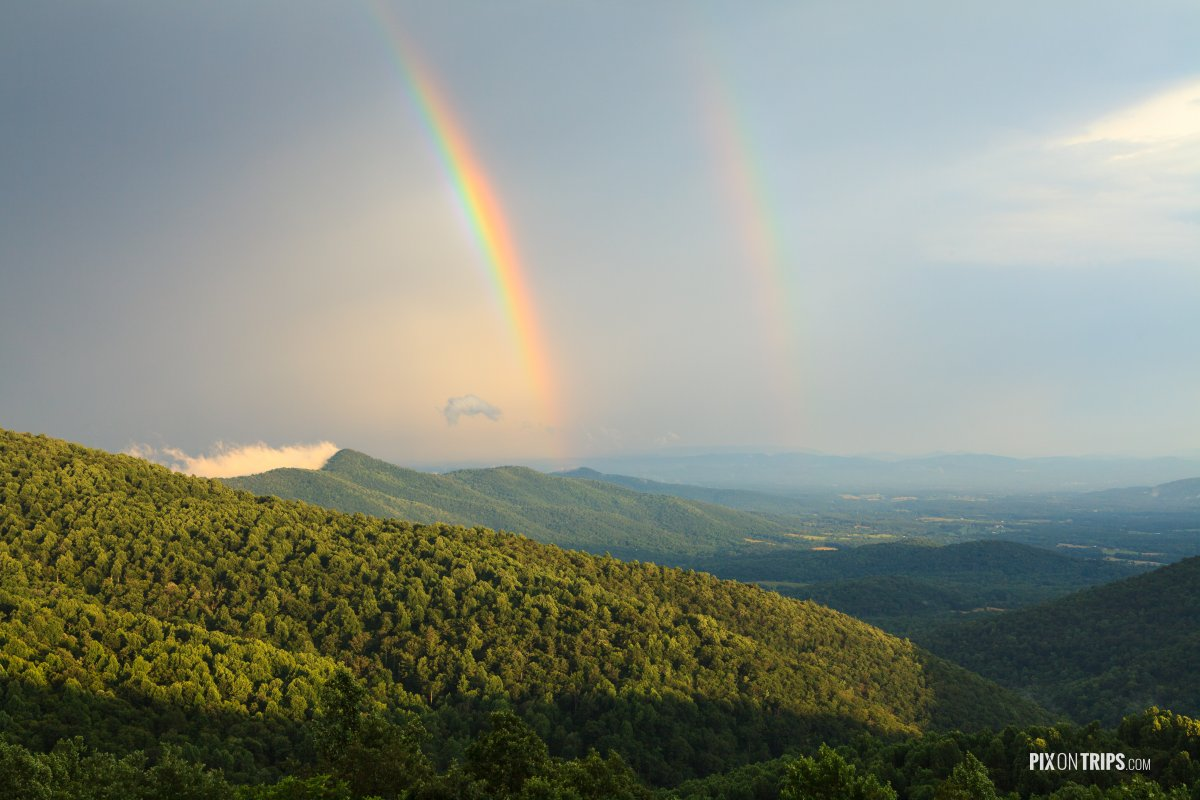 Shenandoah National Park after storm - Pix on Trips