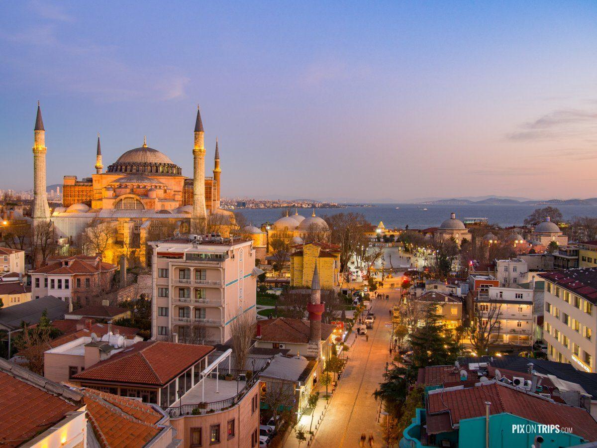 Istanbul city street - Pix on Trips