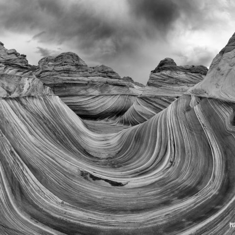The Wave in B&W - Pix on Trips