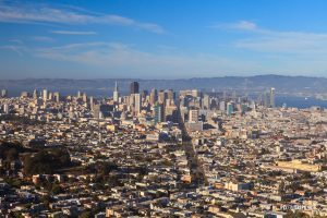 Vista of San Francisco City - Pix on Trips