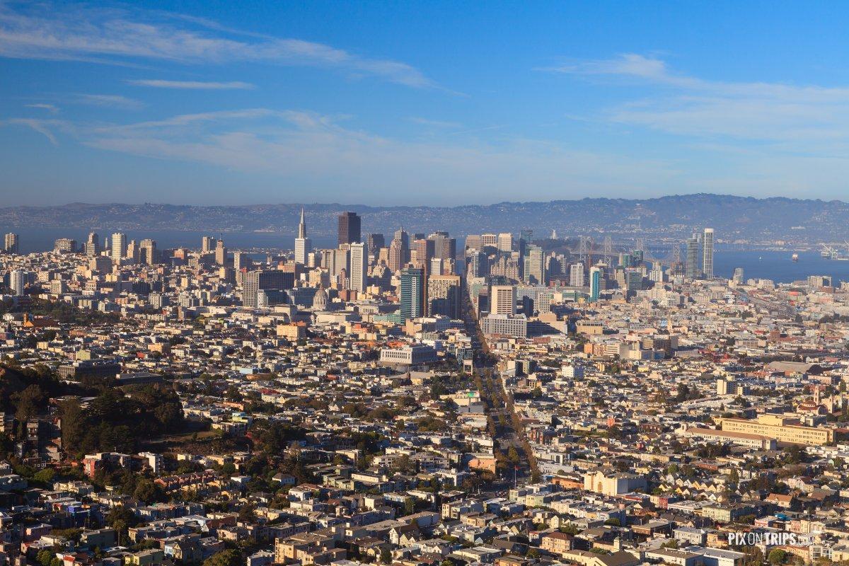 Vista of San Francisco City - Pix on Trips