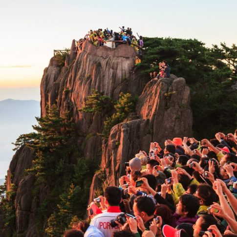 Watching Sunrise at Mt. Huangshan - Pix on Trips