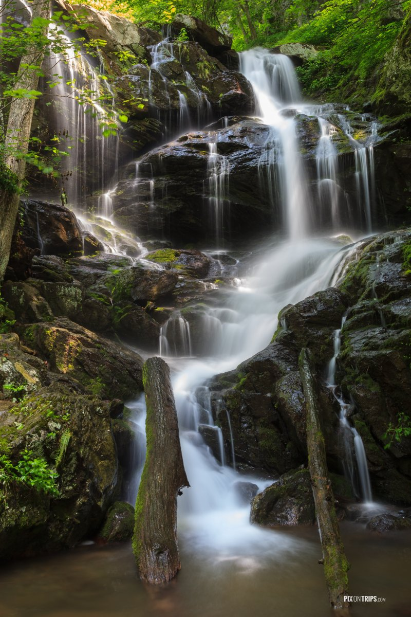 Water Falls in Shenandoah National Park - Pix on Trips