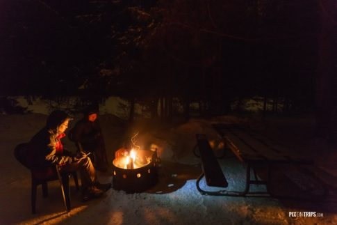Camping in winter - Pix on Trips