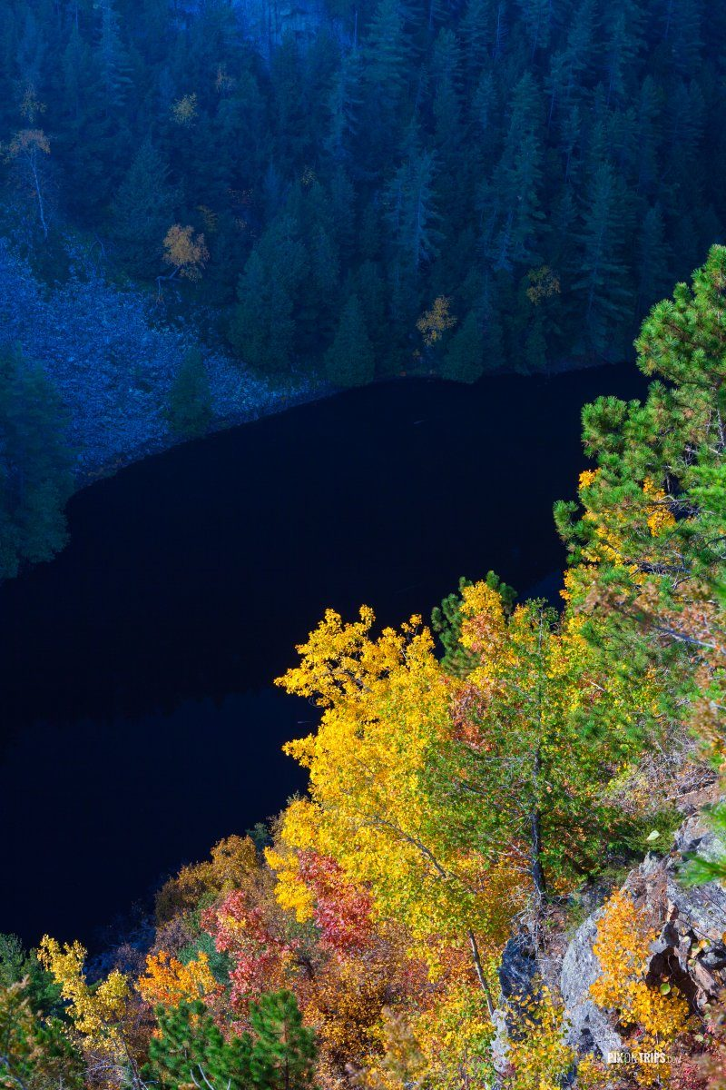 Fall colours in Algonquin Provincial Park - Pix on Trips