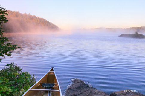 Misty Lake at dawn - Pix on Trips
