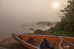 Wilderness Lake in a foggy summer morning - Pix on Trips