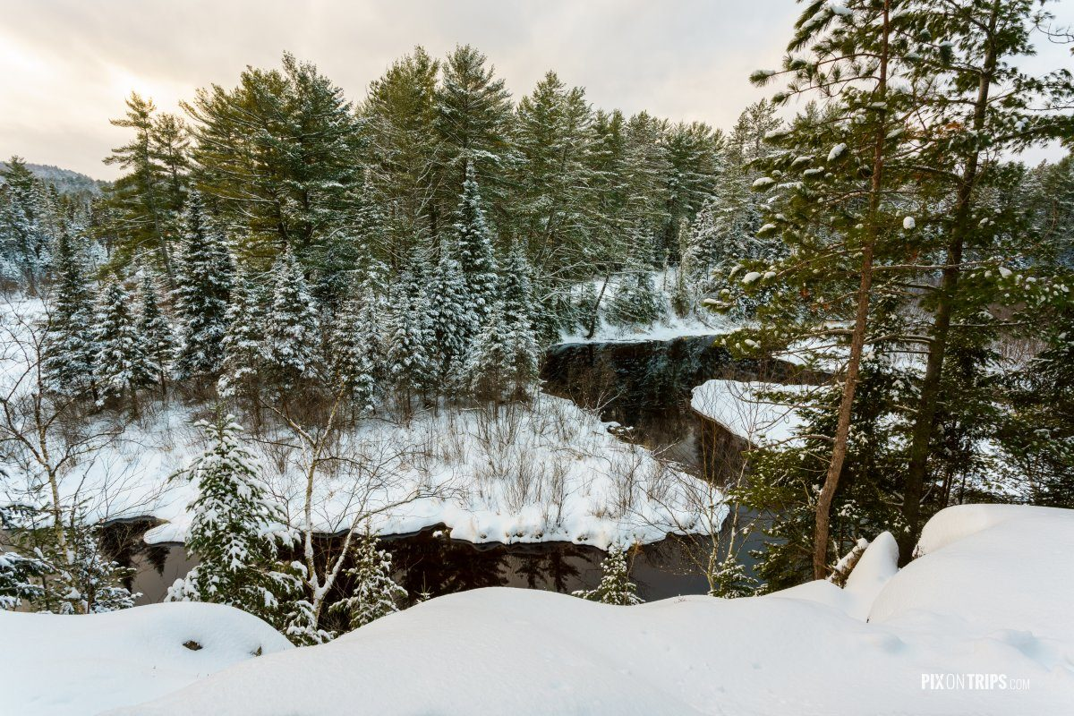 Winter landscape of a wilderness park - Pix on Trips