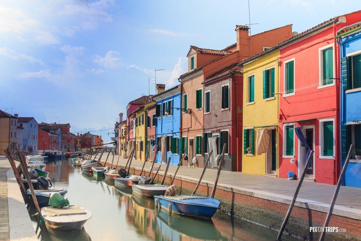 Burano, Italy - Pix on Trips