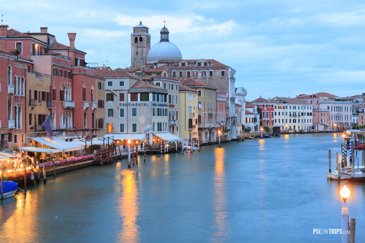Grant Canal, Venice, Italy - Pix on Trips