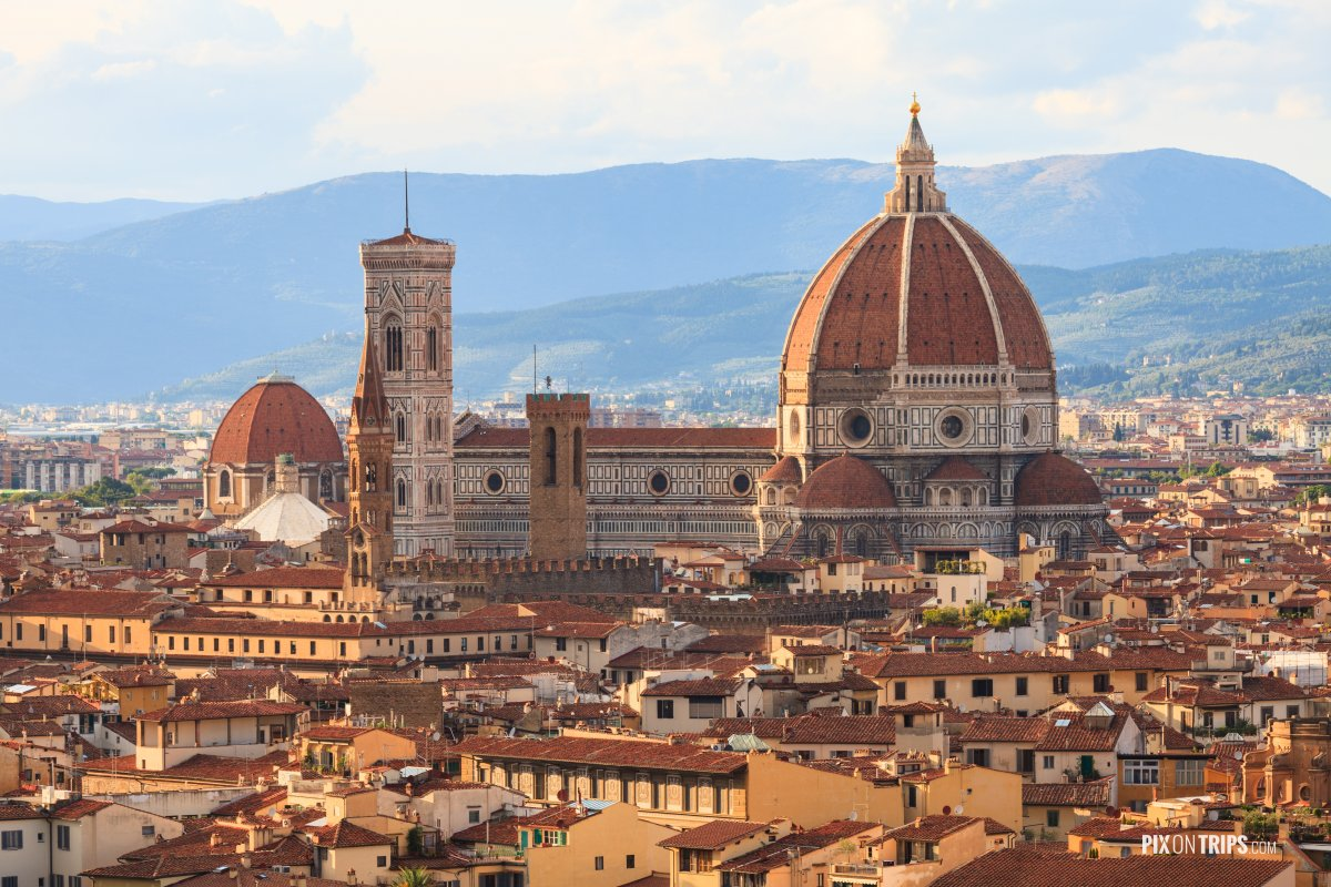 The Duomo of Florence, Italy - Pix on Trips