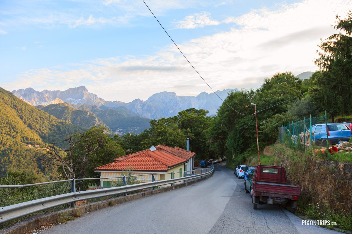 A mountain village in southern Tascany, Italy - Pix on Trips