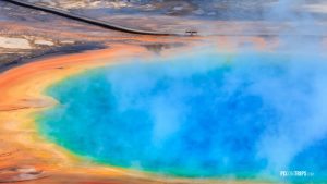 Grand Prismatic Spring - Pix on Trips