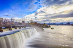 Rideau Falls, Ottawa, Canada - Pix on Trips