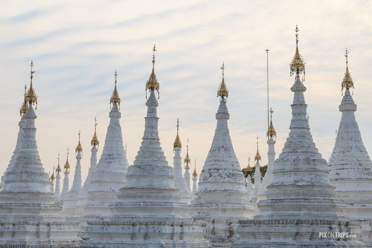 Stupas at Sanda Muni Paya, Mandalay, Myanmar | Pix on Trips