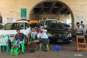 Street of Yangon, Myanmar - Pix on Trips