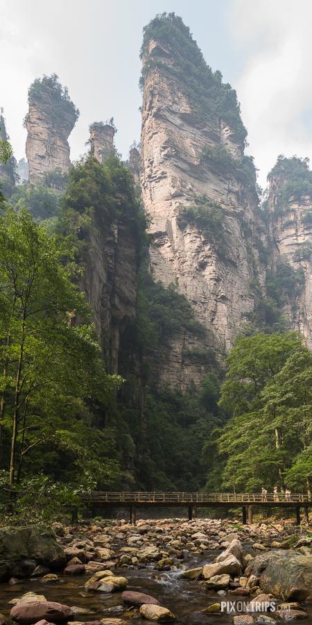 Jingbianxi of Zhangjiajie, Hunan, China