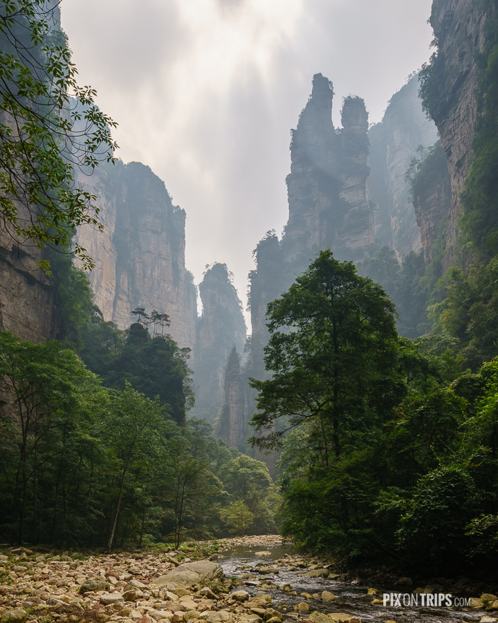 Jinbianxi of Zhangjiajie, Hunan, China