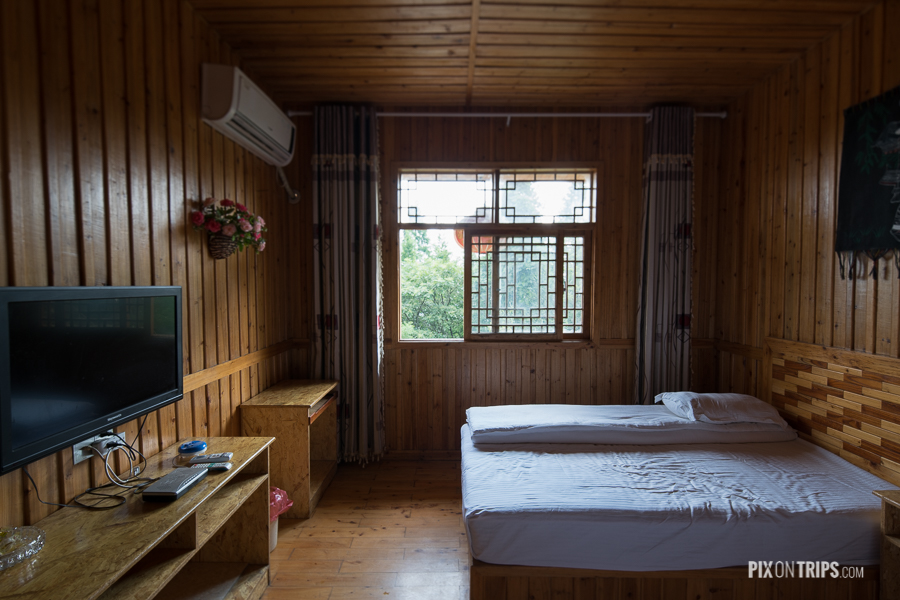 A room of Tianyuan Guest House, Zhangjiajie National Forest Park