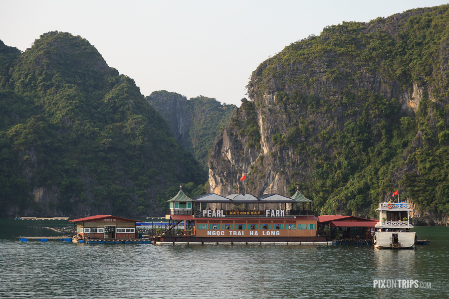 Pearl Farm in Halong Bay, Vietnam