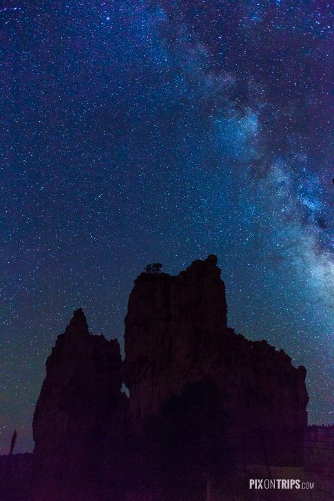 Starry Night at Bryce Canyon National Park