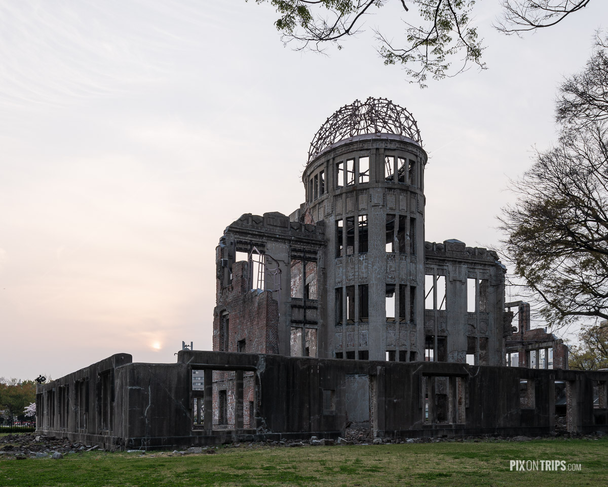 Ruin of A-bomb dome, Hiroshima, Japan - Pix on Trips