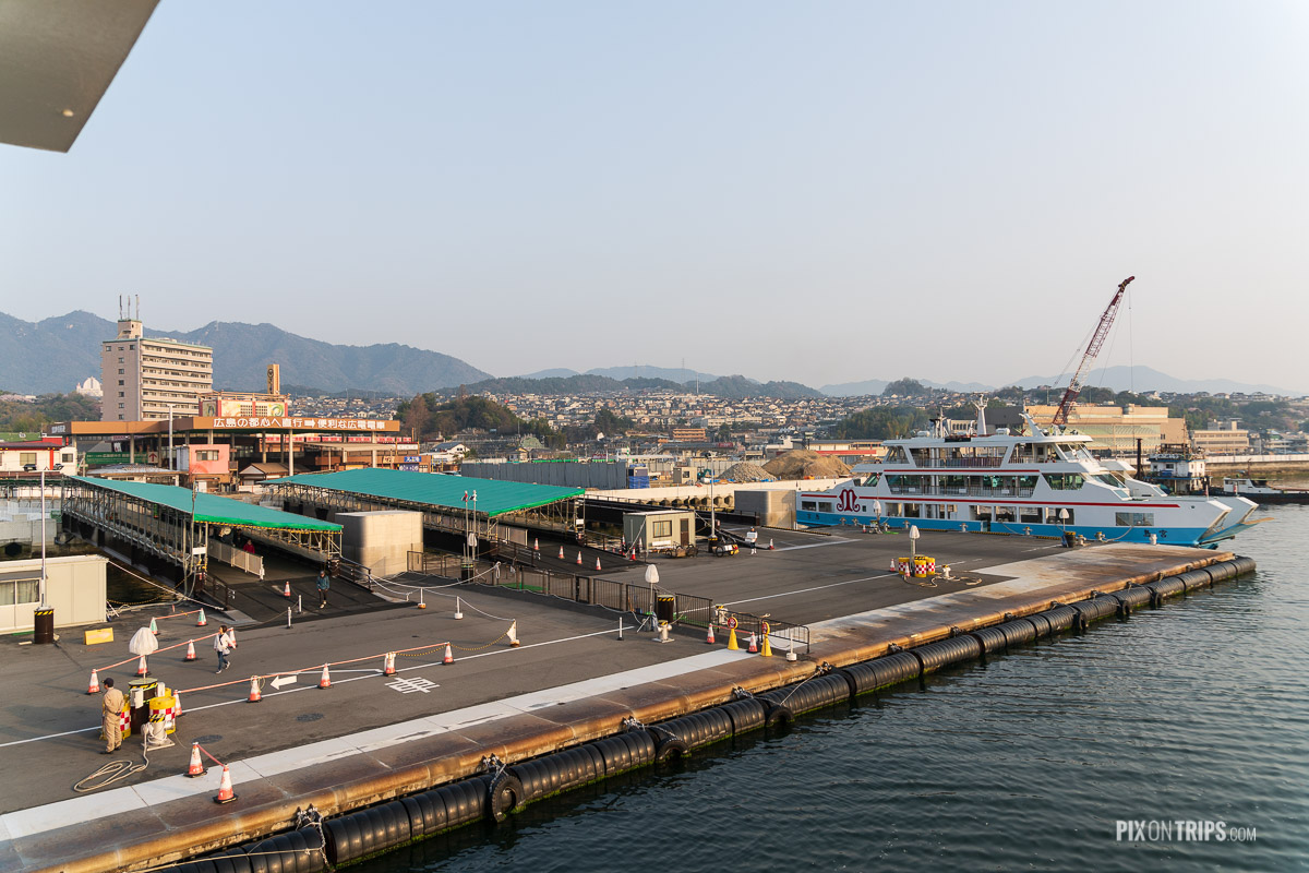 The Miyajimaguchi Ferry, Japan - Pix on Trips