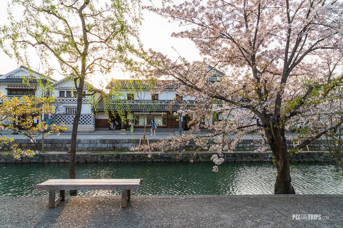 Kurashiki Canal and the Bikan Historical Quarter, Kurashiki, Japan - Pix on Trips